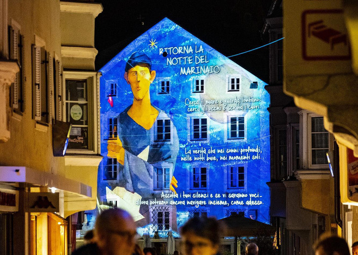 Brixen Water Light Festival 2021 powered by durst